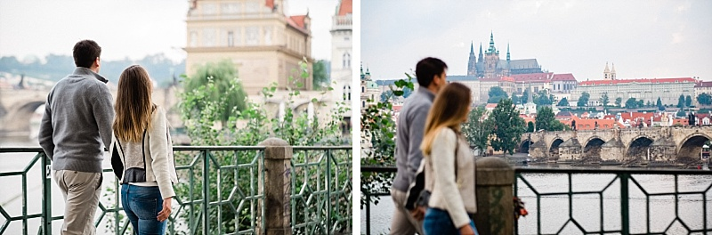 Prague pre-wedding photography
