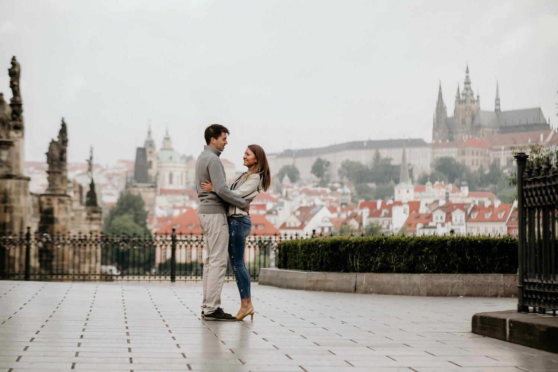 Pre-wedding Photo shoot in Prague
