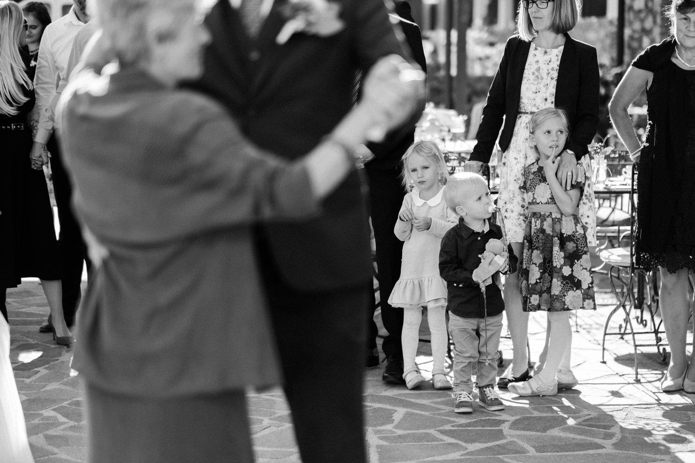 děti na svatbách