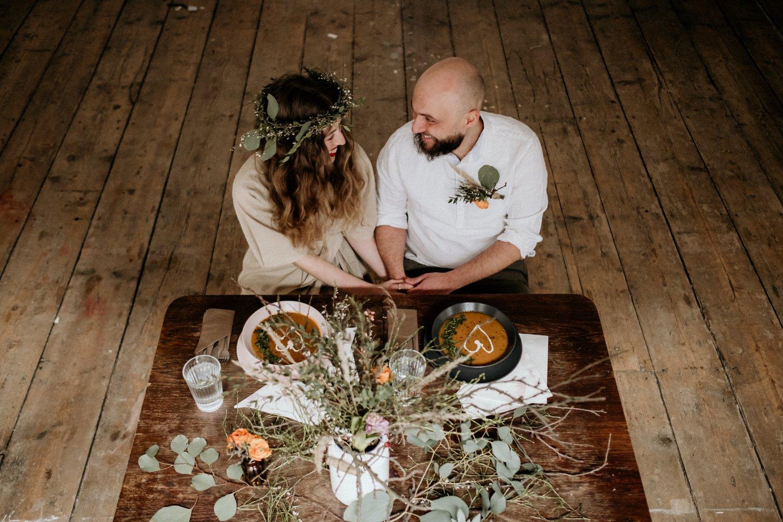 veganská svatba