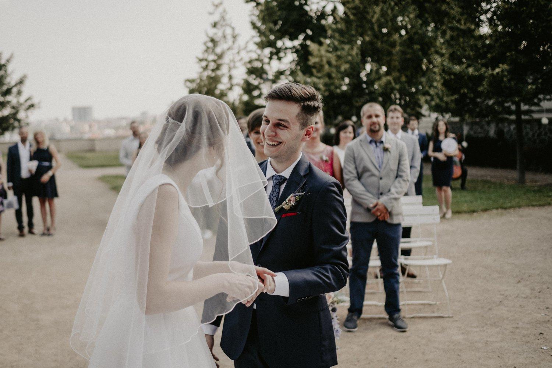 Svatba Grébovka Praha